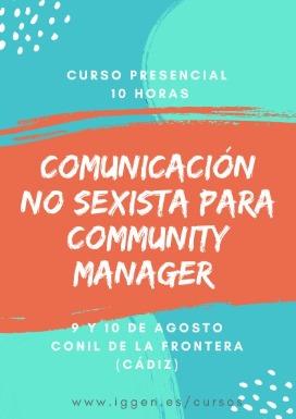 Curso de comunicación no sexista